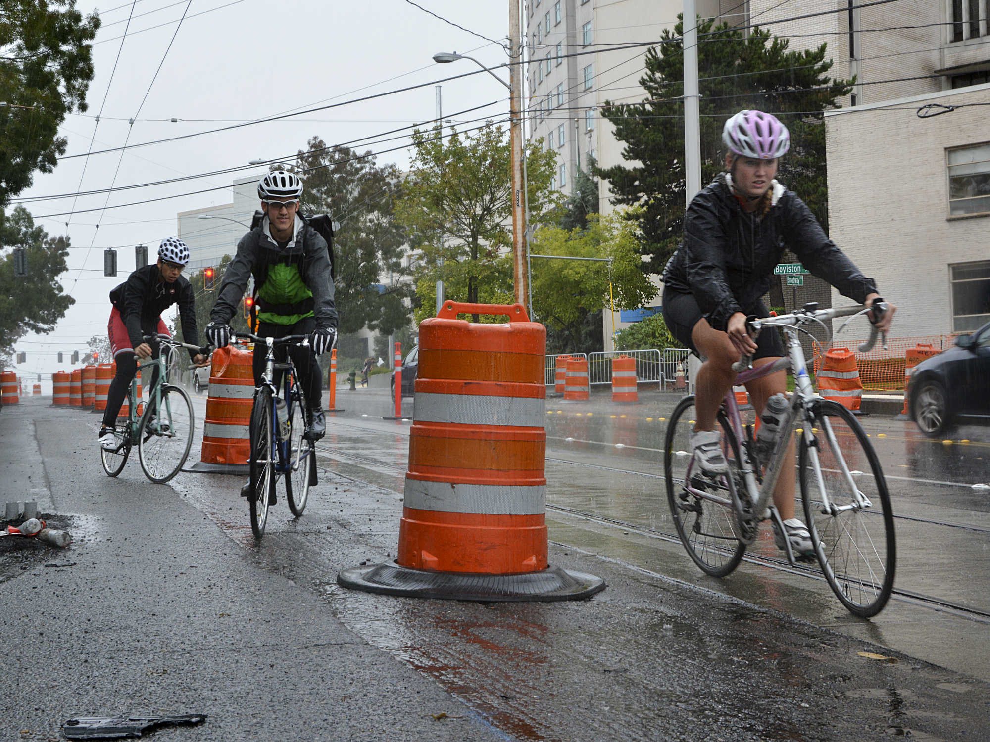Streetcar Construction Derails Bikers