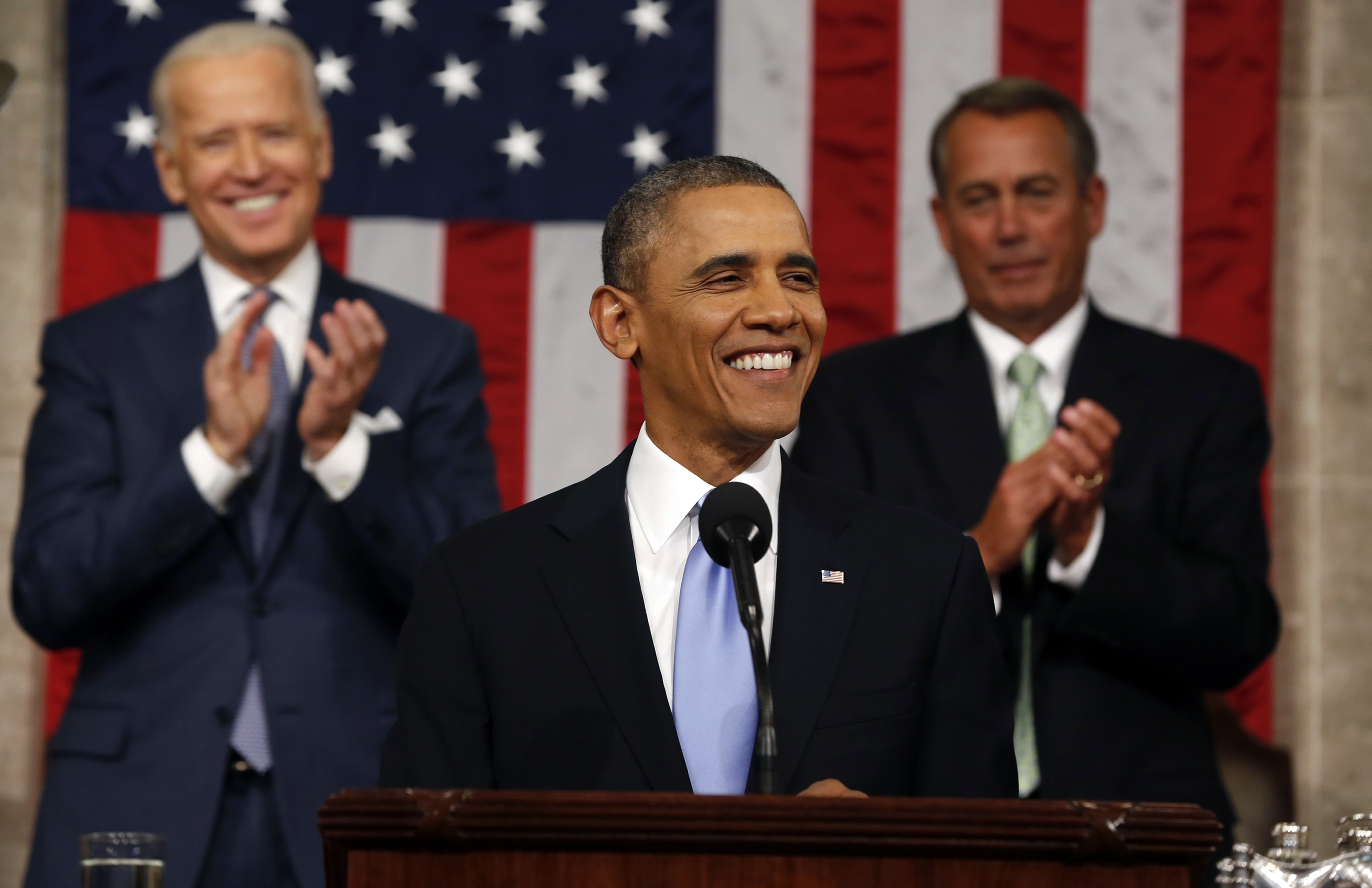 King Obama: President Talks Big to America