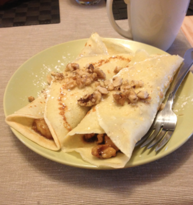 The Mouthful: Bananas Foster Crepes