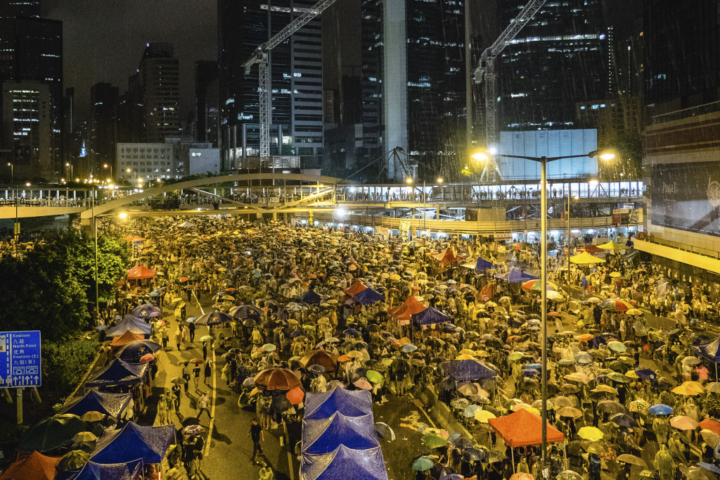 Hong+Kong+Students+Lead+Democracy+Protests