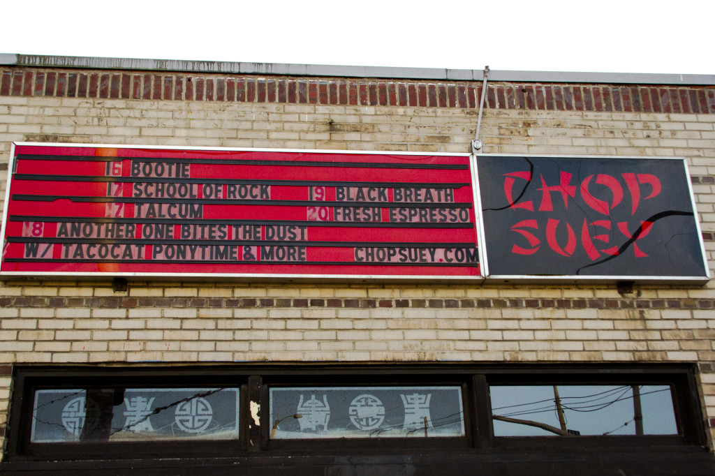 Chop Suey Closes up Shop, SU Bands Reminisce