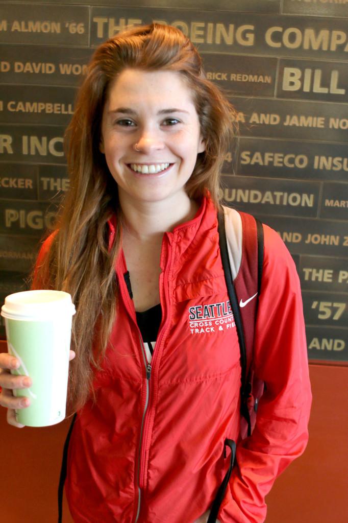 Becca Lassere, Junior SPEX major.