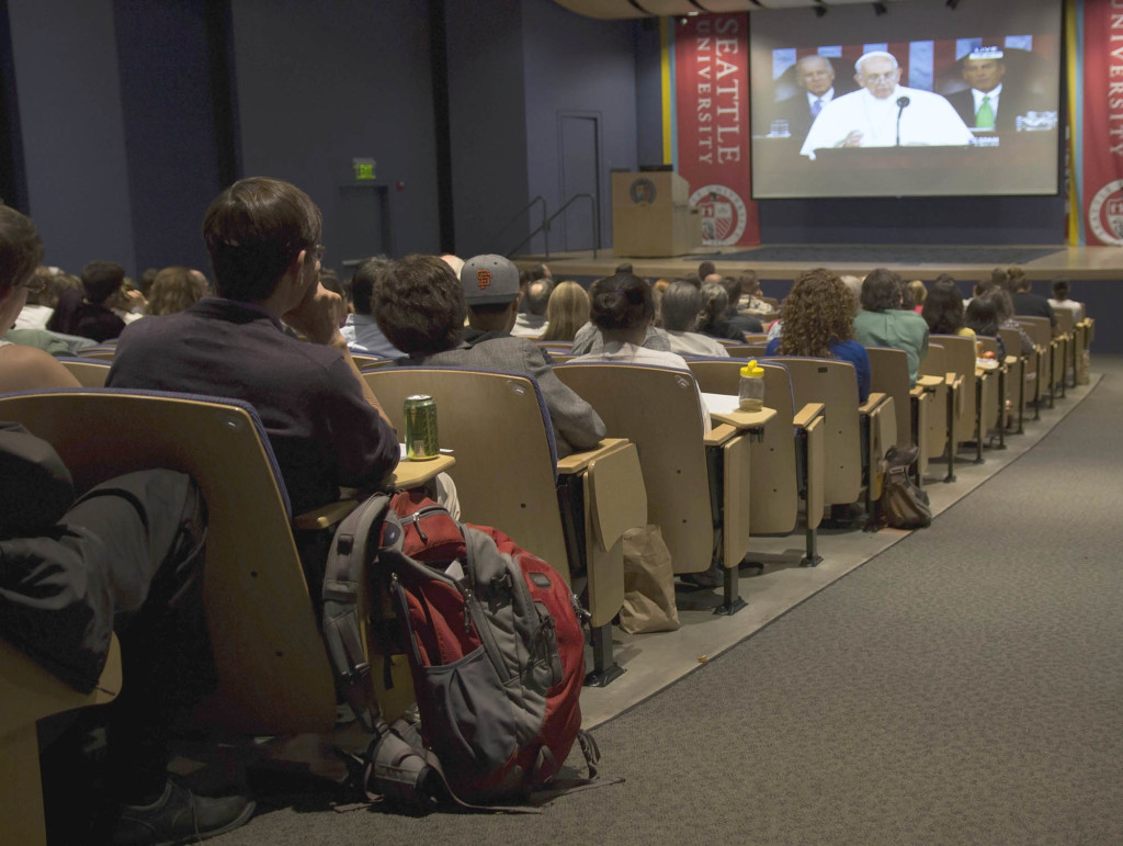 Attendees listened carefully to Pope Francis every word, trying to foresee the significance of the Pontifs statements.