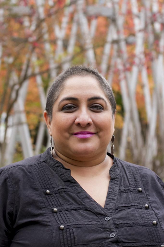 Film festival organizer Kiran Dhillon.