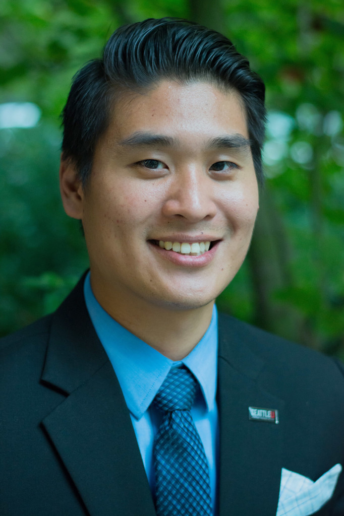 Thaddeus Teo, Seattle University alum and member of the Bridge of Young Alumni Board at Seattle U.