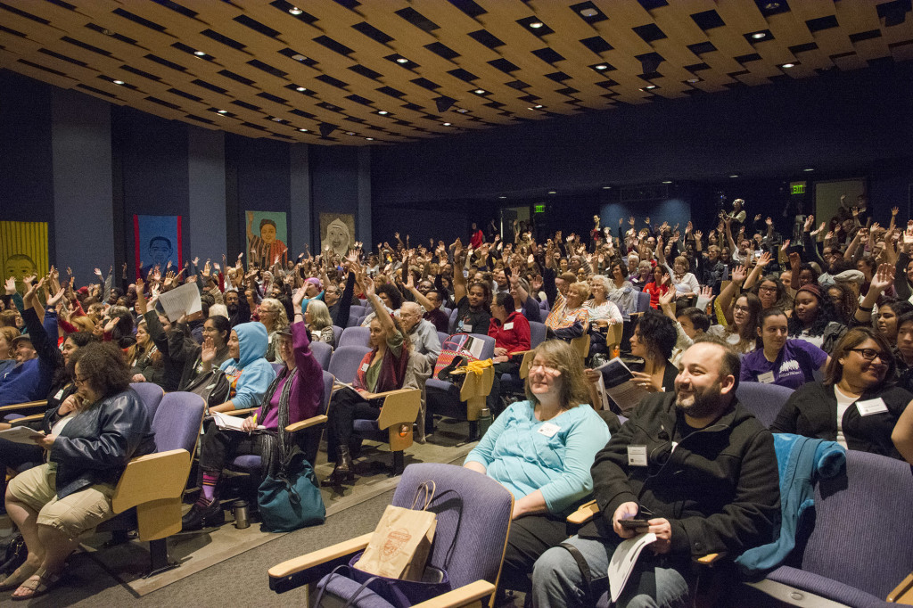The Seattle Race Conference was held in the PIgott Auditorium on Saturday Oct 10. Many from the Seattle community, as well as the Seattle University faculty attended to learn how to be more inclusive in their work environment and every day life.