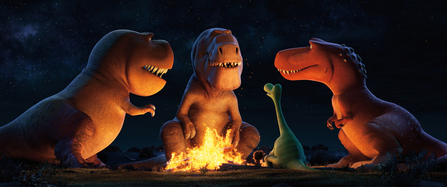 """The Good Dinosaur:"" A Sneak Peek of Pixar's Visual Mastery"