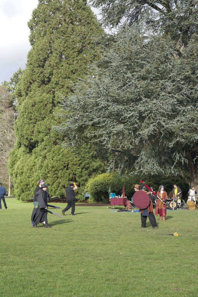 Every other Sunday a group of Seattleites come together at Volunteer Park for a game of Live Action Roll Play (LARP).
