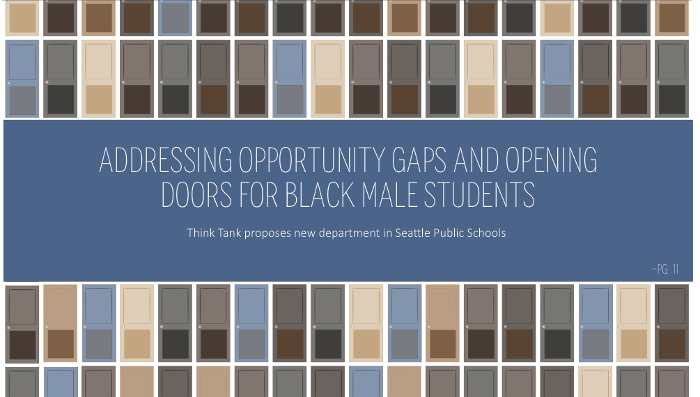 Addressing Opportunity Gaps in Seattle Public Schools and Opening Doors for Black Male Students