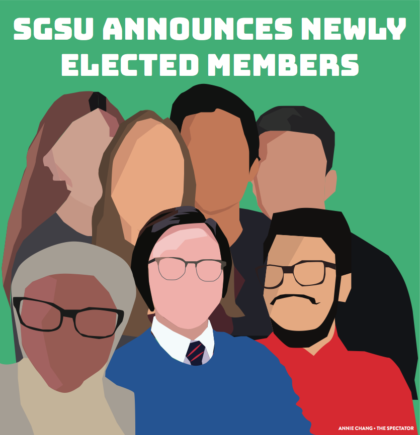 Say Hello to the New SGSU Elected Members!