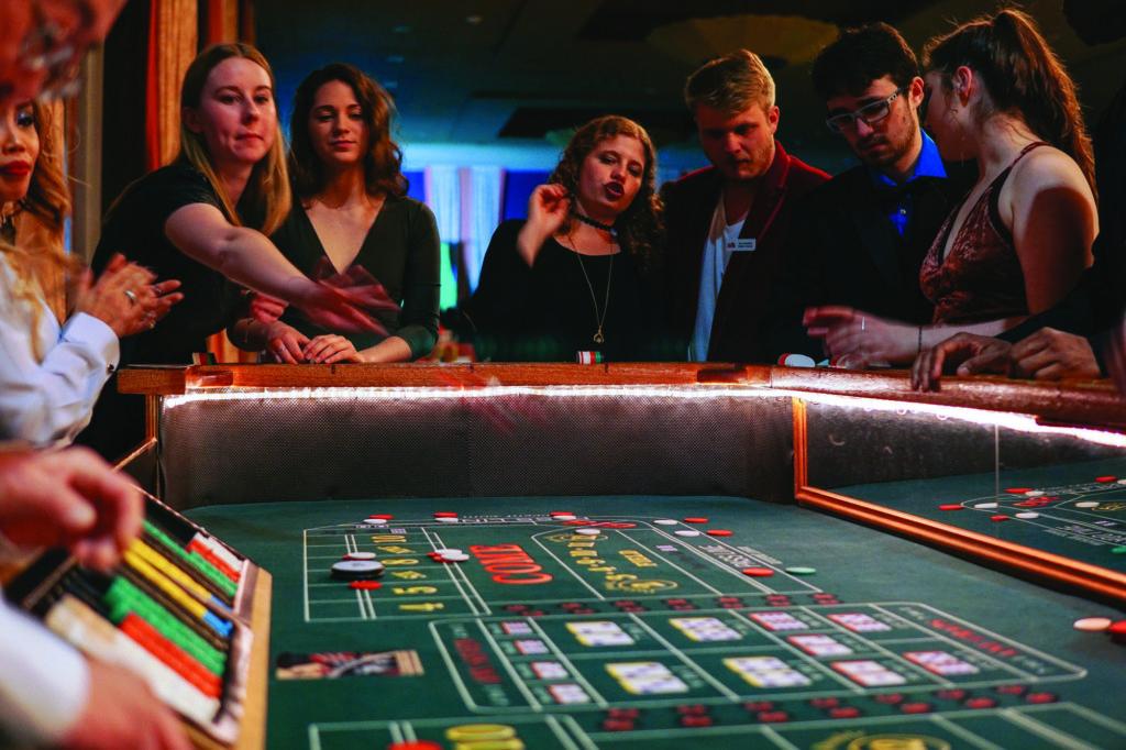 RHA+Hosts+Annual+Casino+Night+in+Campion+Ballroom