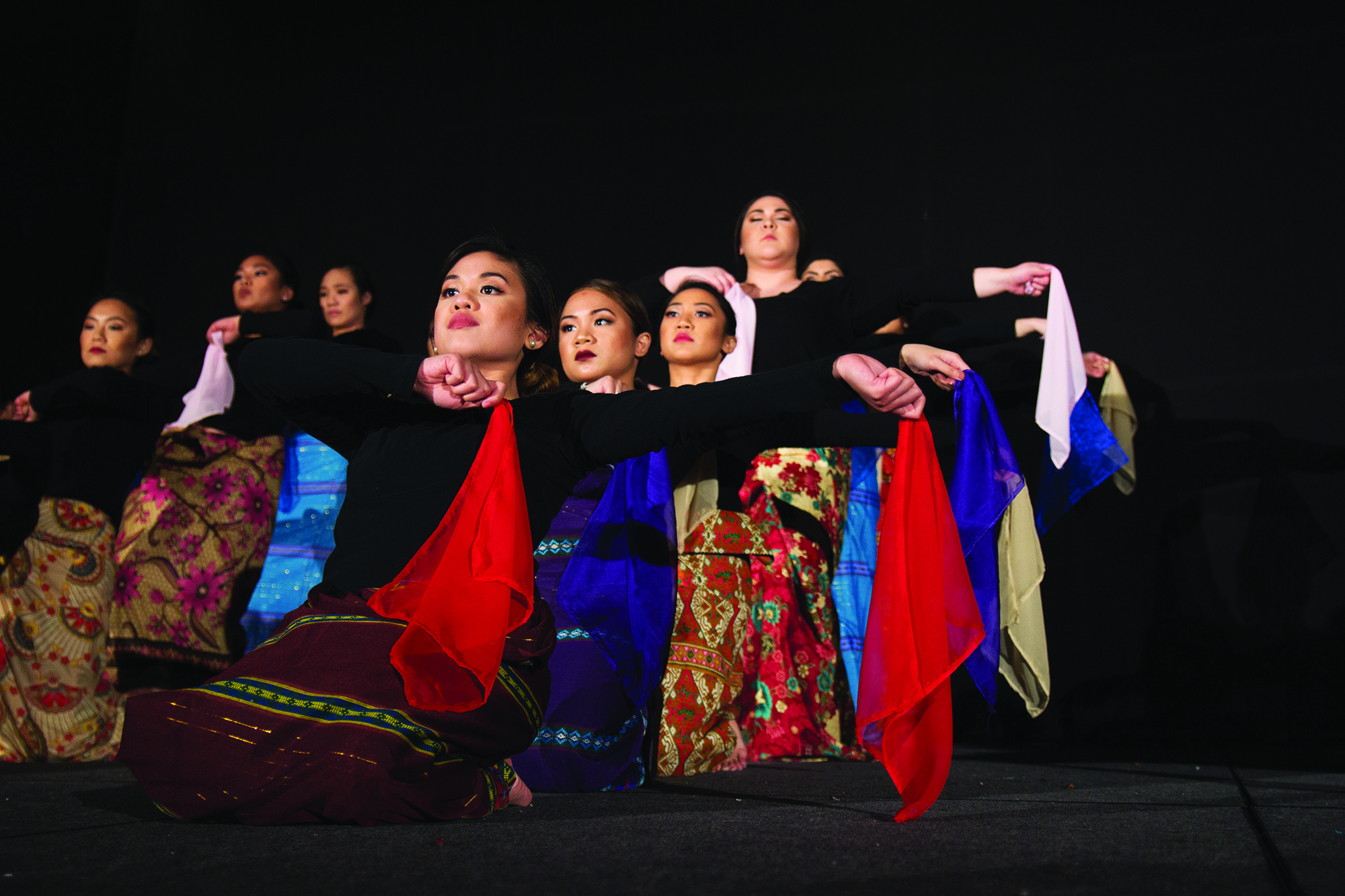 UFC's Barrio Fiesta included modern and traditional dance performances.