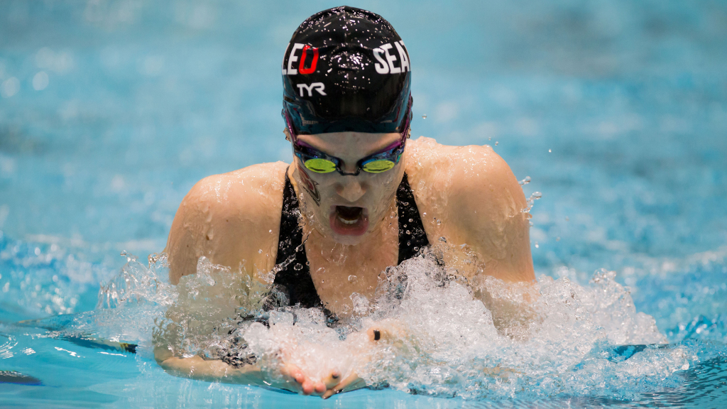 Time Out Session: Seattle U Swimmer Blaise Wittenauer-Lee