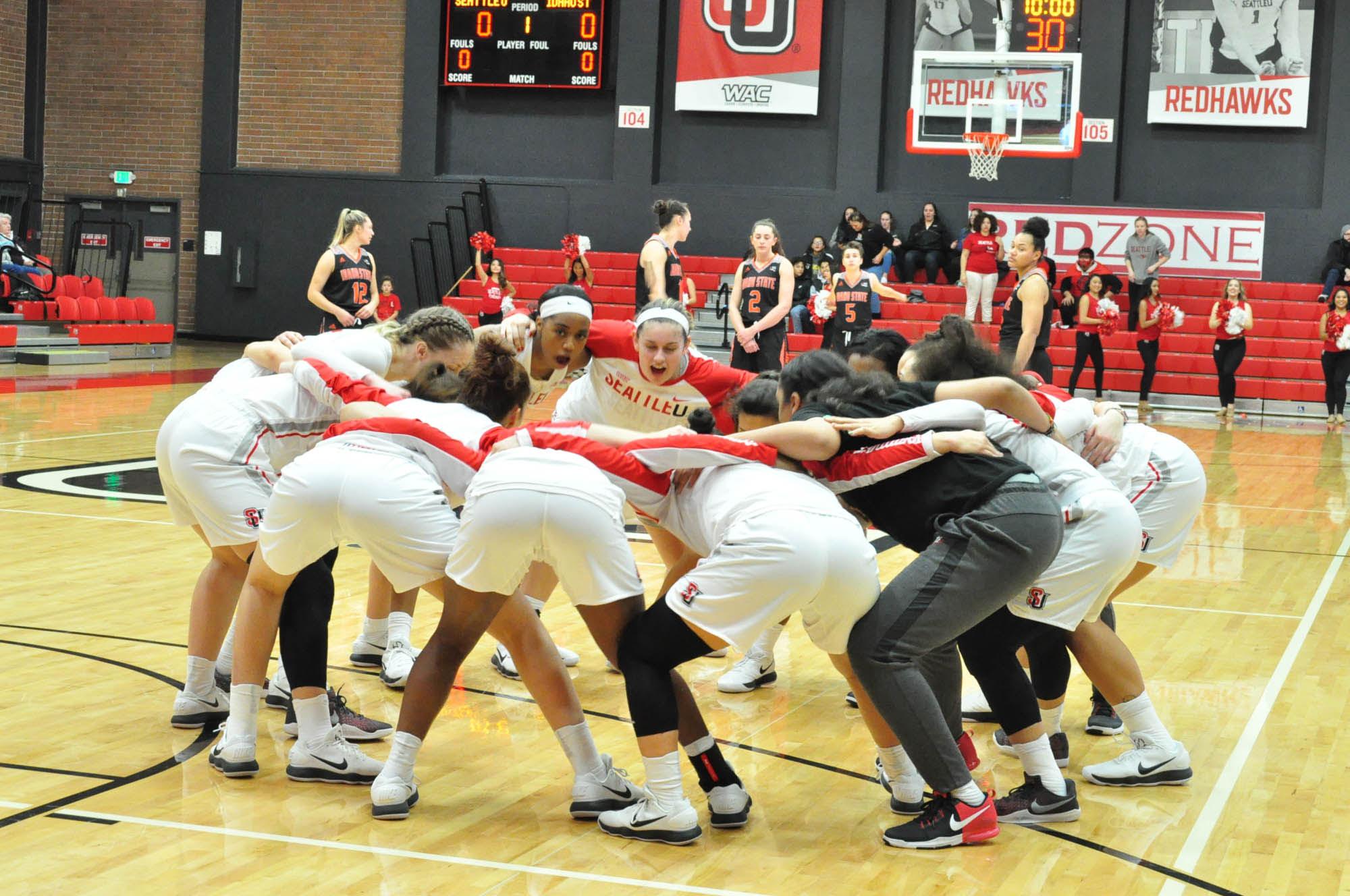 SU Women's basketball preparing to take on Idaho State.