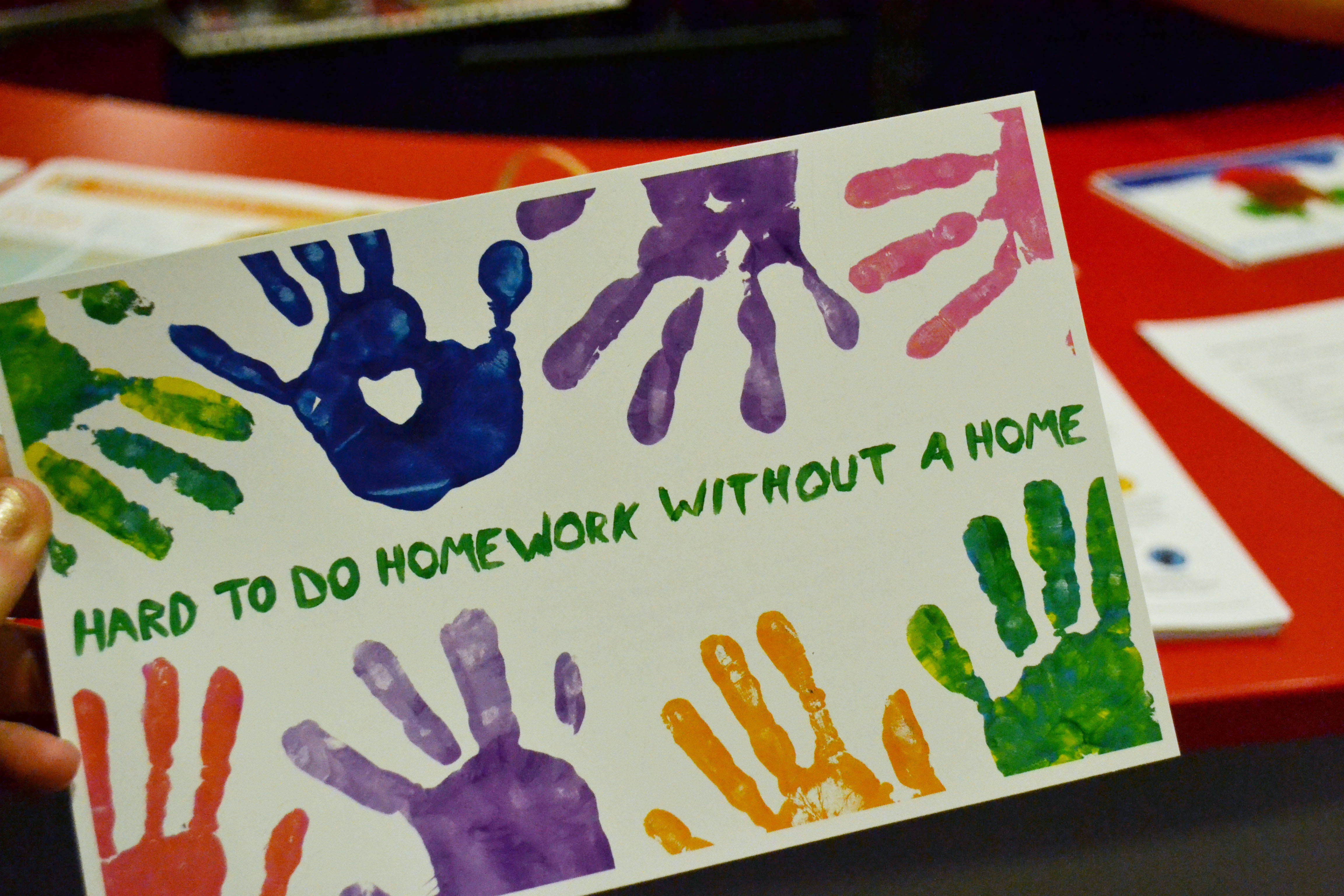 Day of Service Sends Hundreds of Cards