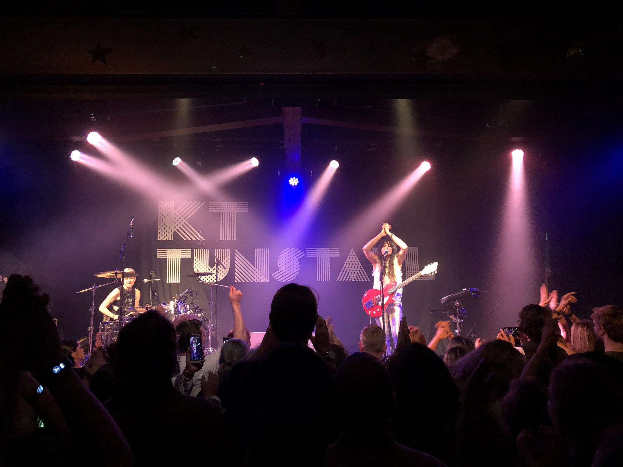 KT Tunstall performs at the Crocodile on October 17, 2018.