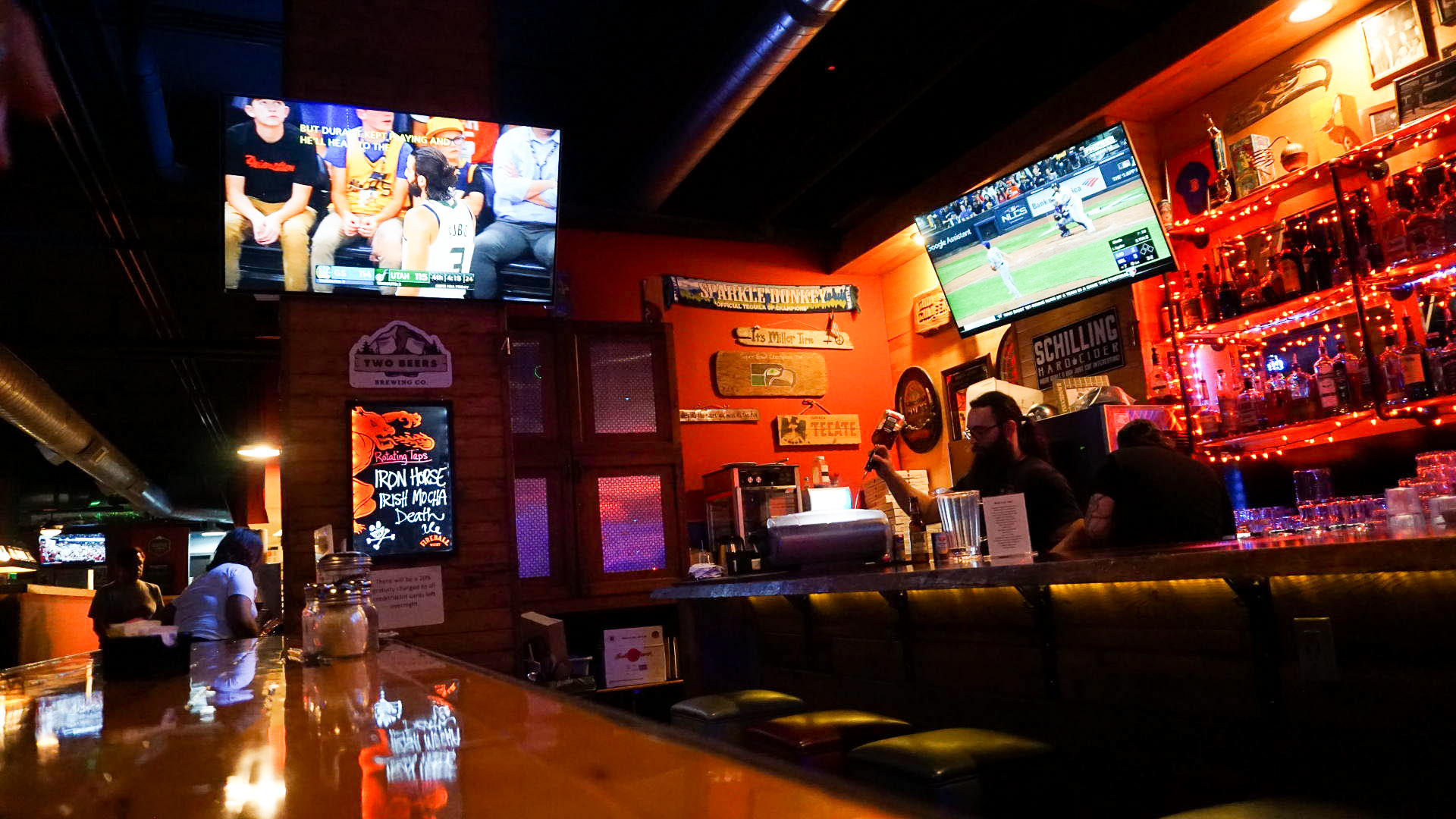 There are many important considerations when choosing a bar to watch the Big Game at, like seating, the menu, and of course, the televisions.