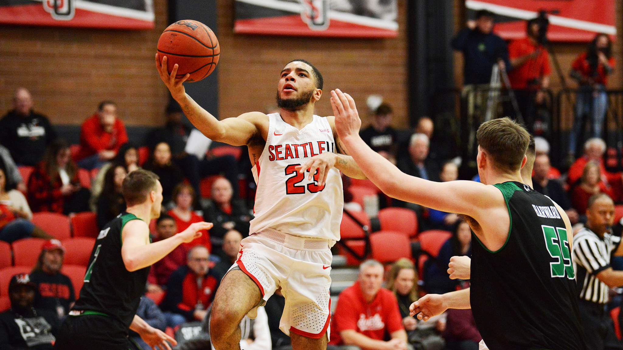 Time Out Session: Hometown Hero Makes His Mark At Seattle U