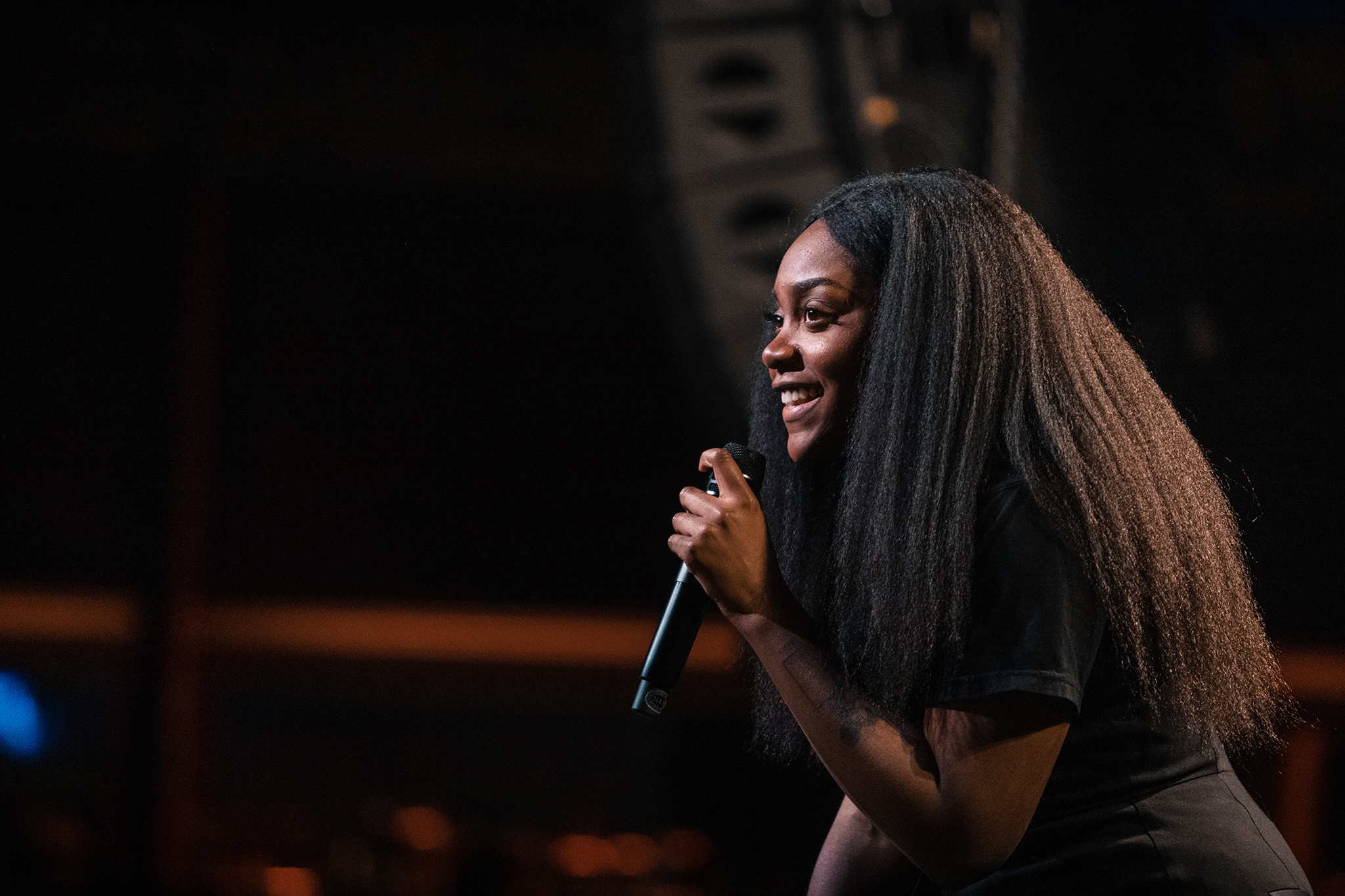 Noname But Lots Of Personality At Seattle Concert