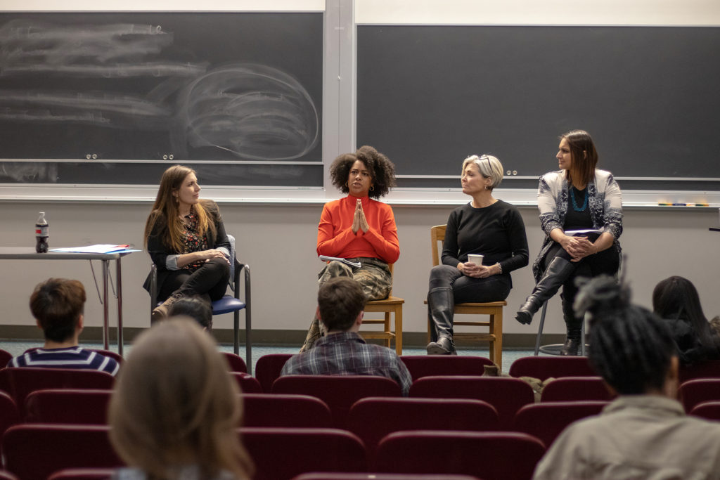 A+very+experieced+panel+conformed+by+%28from+left+to+right%29+Dr.+Caitlin+Carlson%2C+Eula+Scott+Bynoe%2C+Amy+Clancy%2C++and+moderator+Ruchika+Tulshyan+shared+stories+and+stratergies+to+overcome+online+harassment.