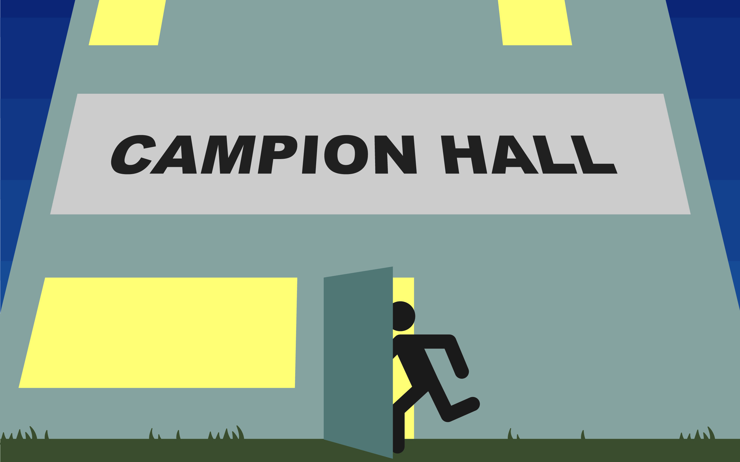 Students Taping Over Doors Facilitated Break-In at Campion Hall
