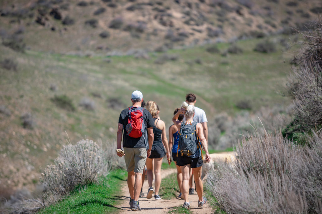 A hike out in nature to commemorate Earth Day 2019 on Monday, April 22.