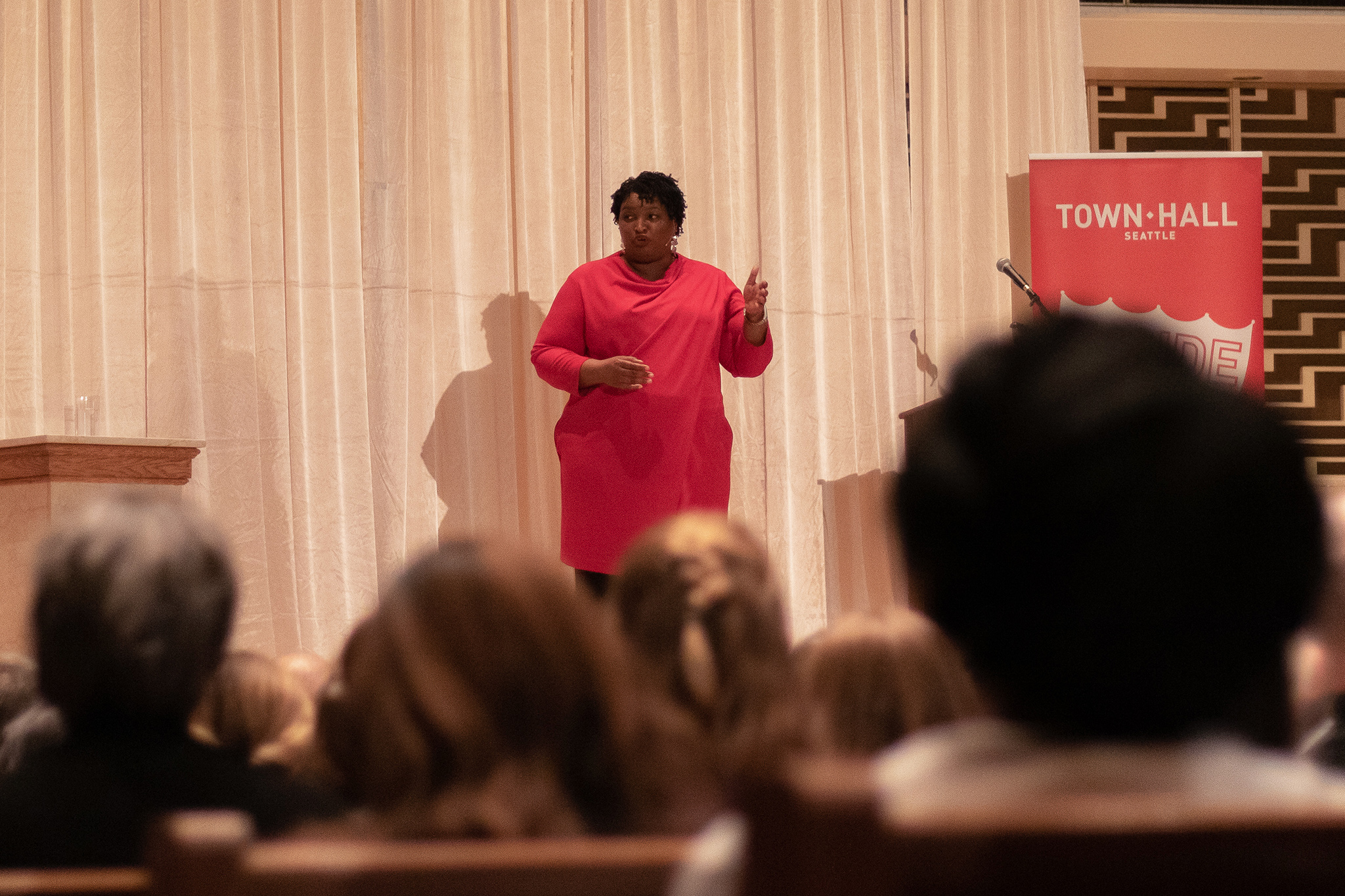 Stacey Abrams Talks Personal Life, Politics & Voter Supression