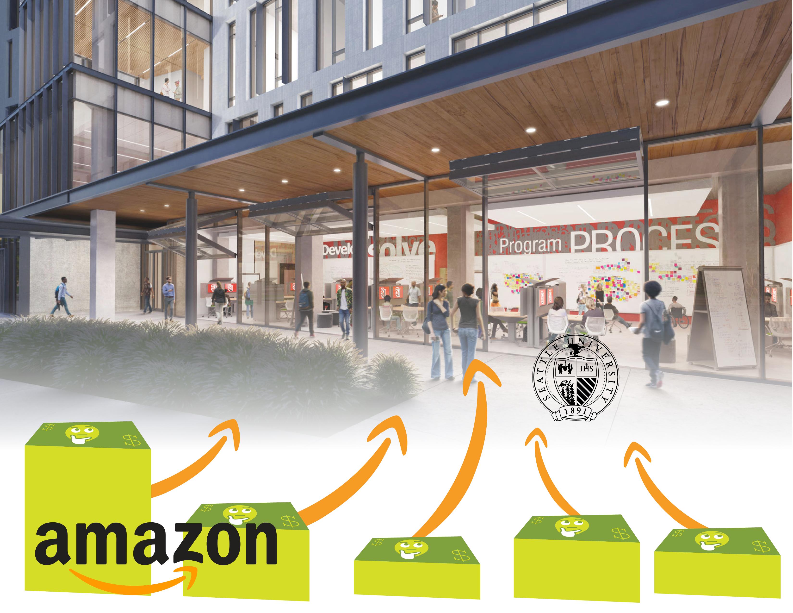 Amazon Donates $3 Million to New CSI Building