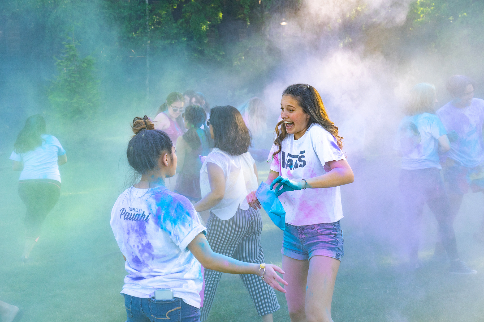 Seattle University Welcomes Spring with Holi Celebration