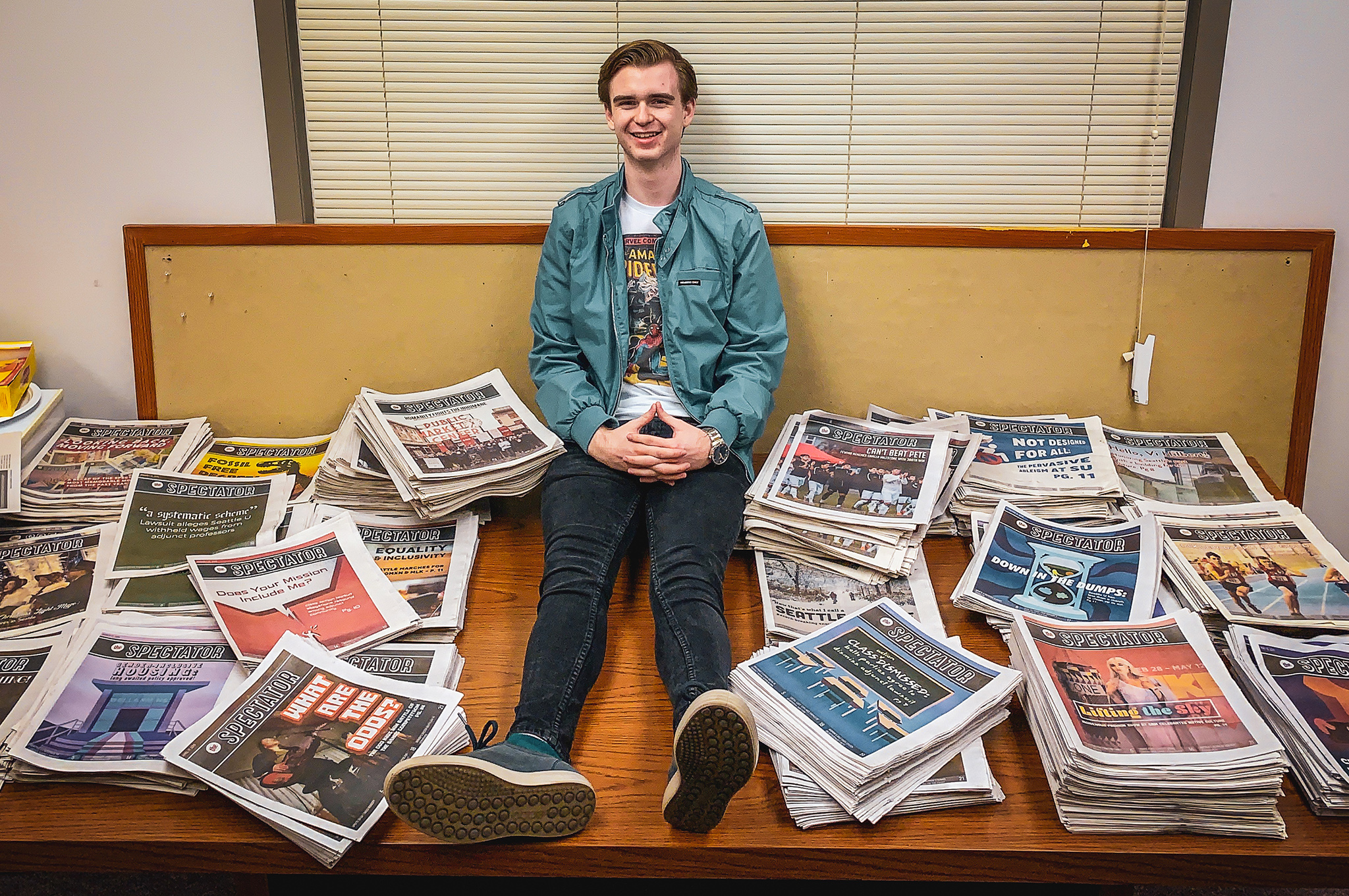 Seattle U's Own Peter Parker Steps Up as Editor-in-Chief