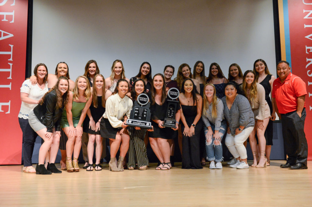 The Seattle University Softball team won their first WAC title and advanced to their first NCAA Tournament during the 2019 season.