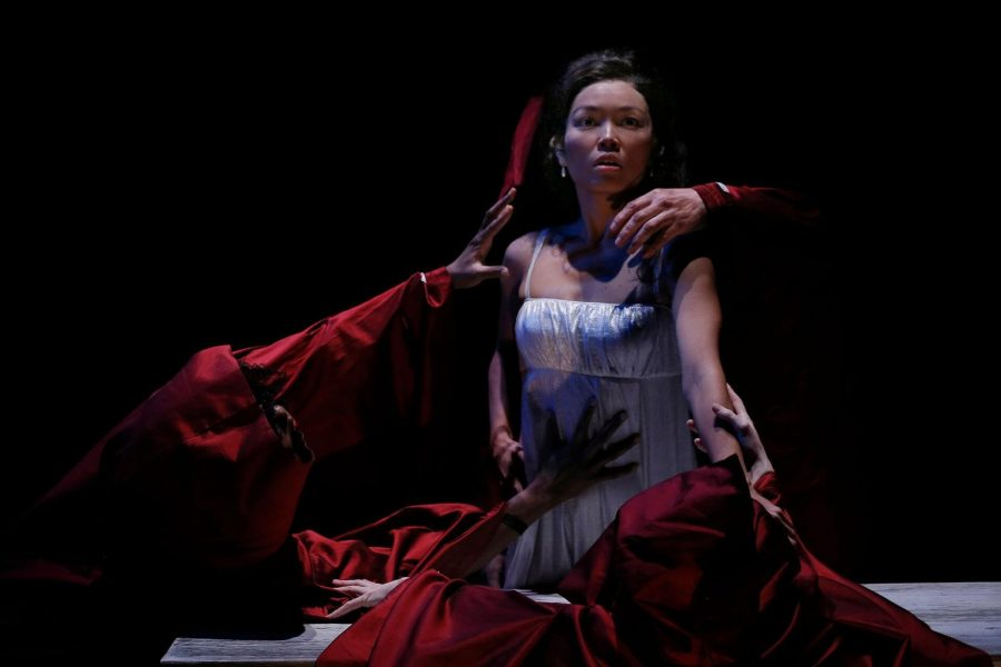 "Khanh Doan brings Mina's character to the front of the stage in ""Dracula."""