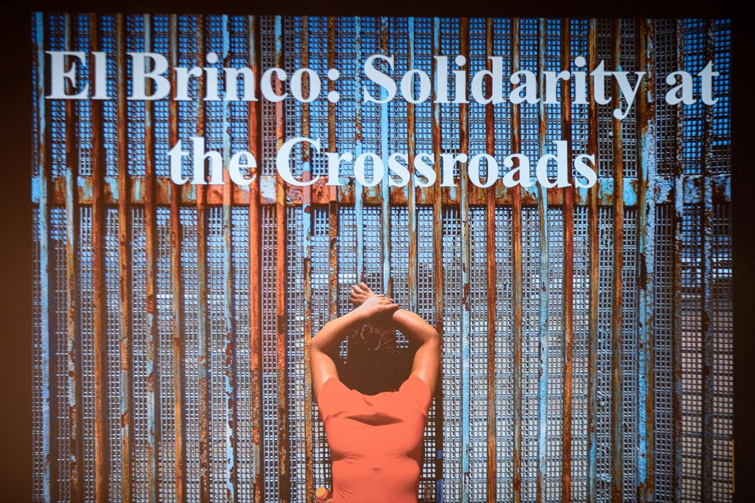 """Jeannette Rodriguez presents """"El Brinco: A Leap Between Worlds"""" for Dispatches from the Border."""
