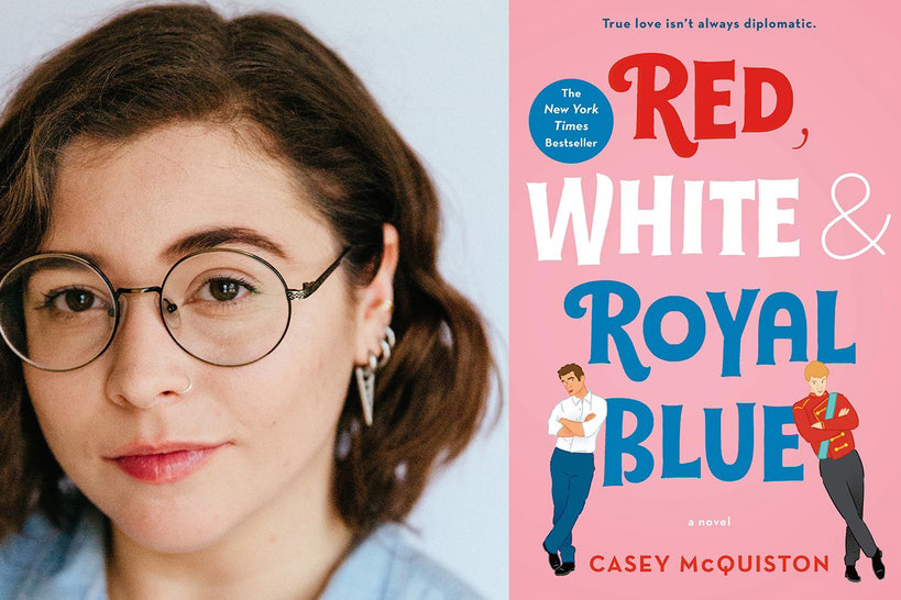 """Casey McQuiston reimagines (and saves) queer romance literature in her first novel, """"Red, White, and Royal Blue."""""""