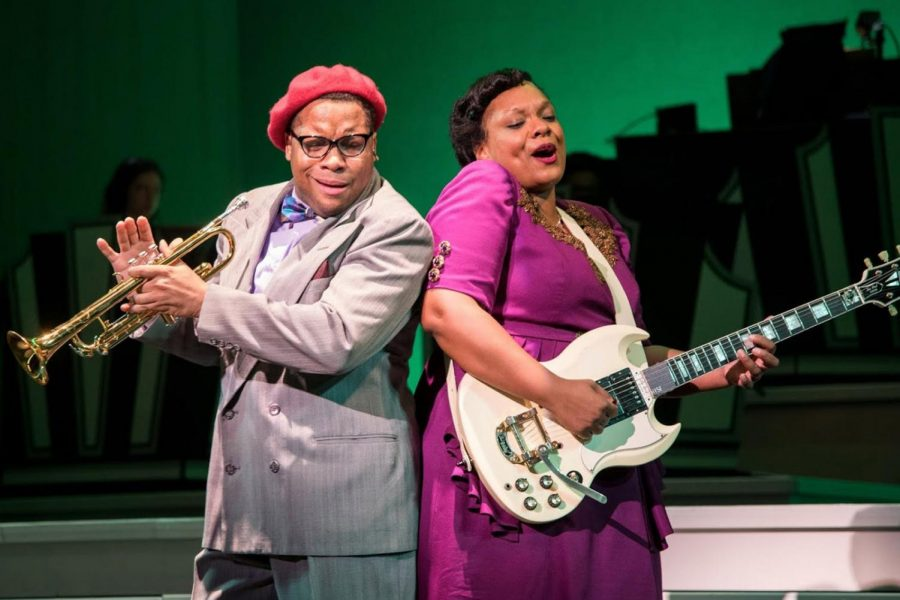 """Shout Sister Shout"" is the new jukebox musical rocking the Seattle stage with rave reviews."