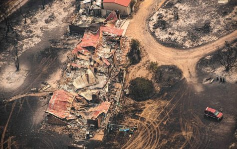 land and property damage from the Australian bushfires