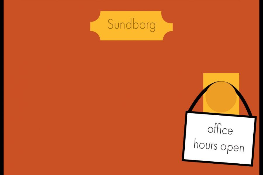 Father Sundborg Starts New Office Hours to Increase Student Access