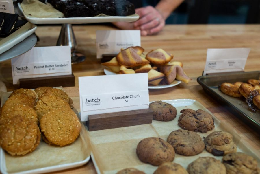 Batch Baking Company offers tasty treats, such as caramel brownies, fortune cookies, and their own take on the classic Oreo cookie.
