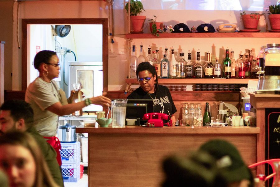 Erika White, the owner and general manager of Fat's Chicken and Waffles, wants to provide all customers with a hospitable and friendly experience in her restaurant.