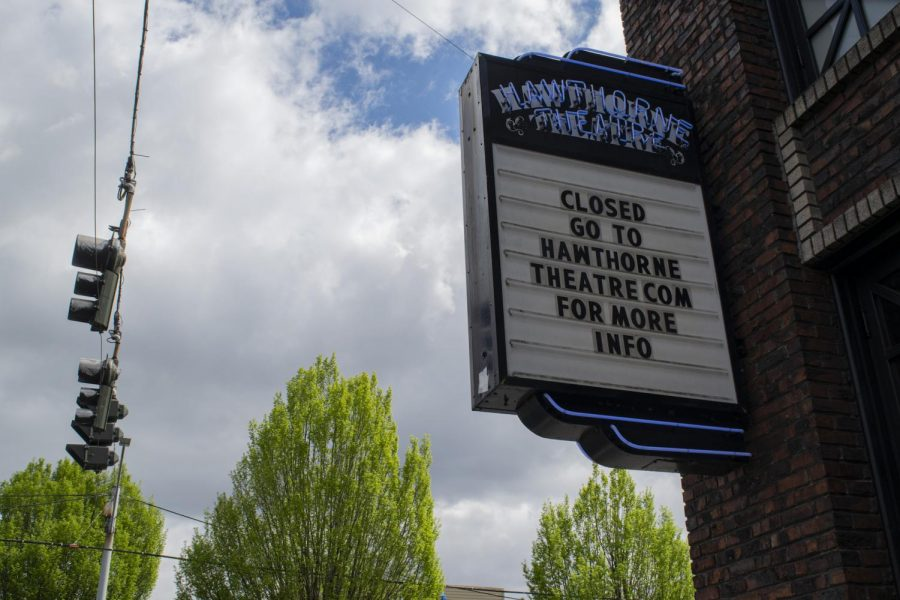 A famous concert venue, The Hawthorne Theater, in Portland, Oregon closed due to COVID-19
