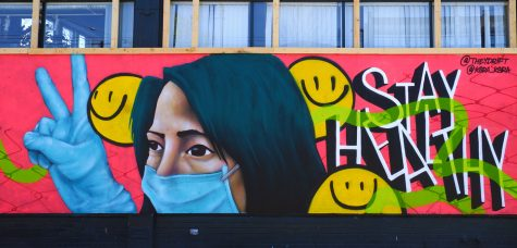 Mural by Krsra (@krsra_ksra) and Carlos Aguilar (@theydrift) on Broadway and Pike.