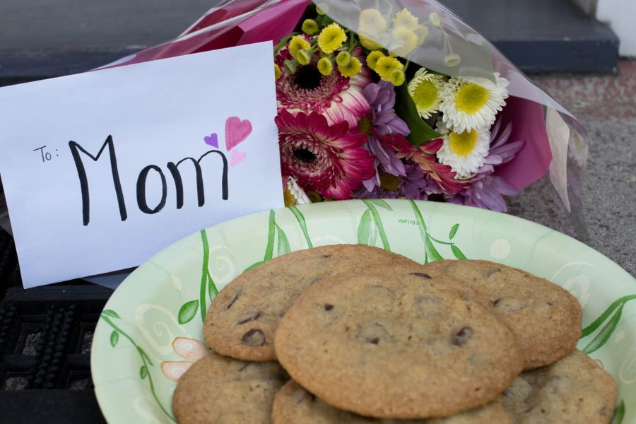 Those who are separated on Mother's Day due to COVID 19 can still brighten a loved one's day with baked goods, flowers, or a kind note.