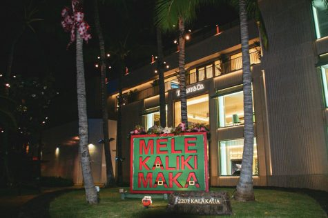 Mele kalikimaka is the thing to say.