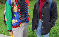 Raymond Carr (he/him) first year Film Studies major (left) and Hanna Rodriguez (she/her) second year International Studies major (right) | Hannah Sutherland